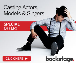 Special Discount for Backstage.com Casting Calls