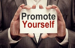 Create a website to promote yourself