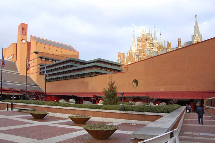 Visit British Library when Living in London