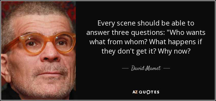 David Mamet Quote