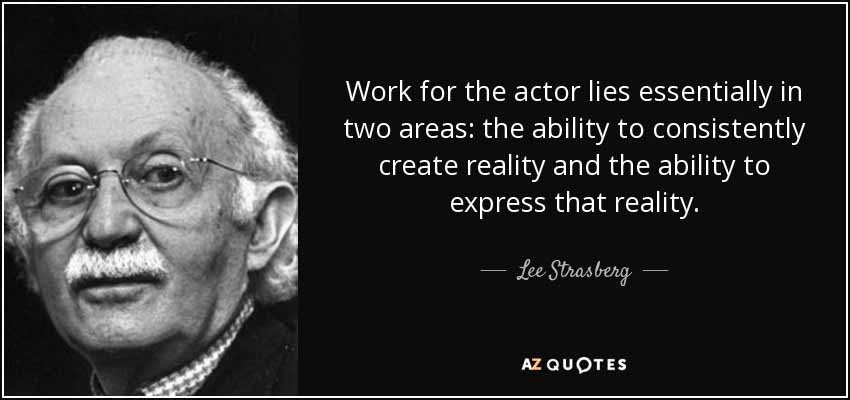 40 Acting Lessons From Well-Known Acting Teachers - Acting ...