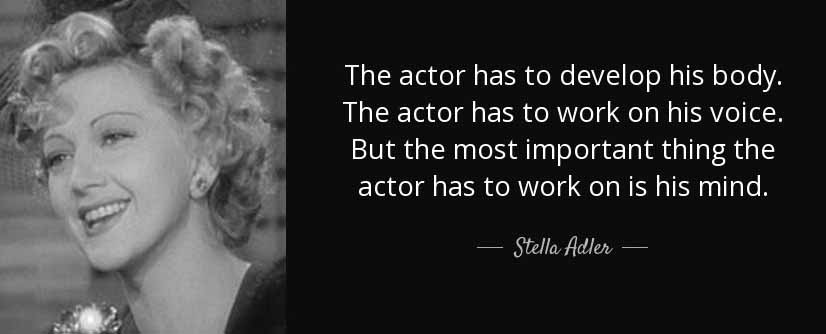 Stella Adler Quote