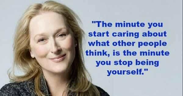 14 Meryl Streep Quote
