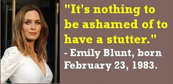 41 Emily Blunt Quote