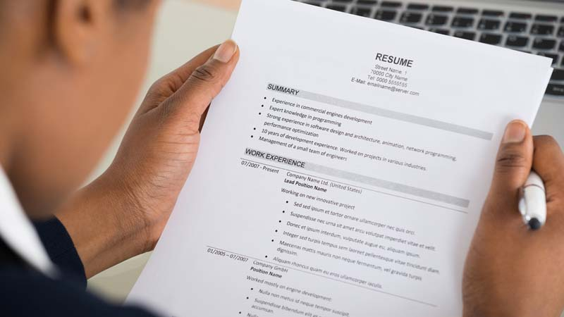 Resume Writing For Actors