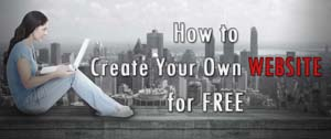 How to Create Your Own Website for Free