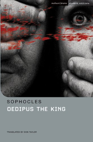 a part of the play oedipus the king by sophocles His character that he betrays is typical of those who honestly believe they have no part in the situation that occurs in sophocles's play oedipus the king, oedipus and creon are two completely opposite people.