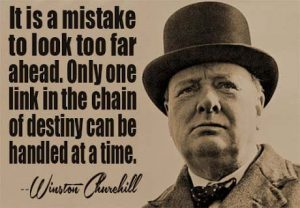 Winston Churchill Acting Quote