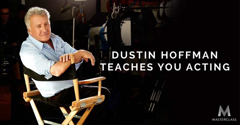 Dustin Hoffman Acting Class