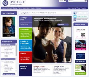 Spotlight - Leading UK Casting Website