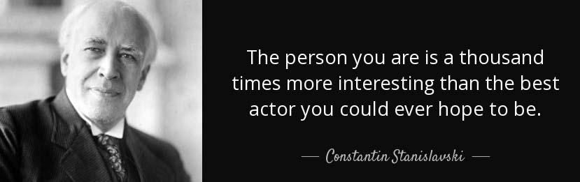 Stanislavsky Quote