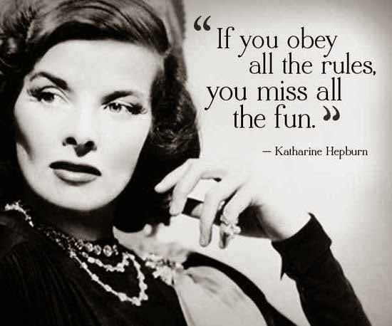 22 Katharine Hepburn Quote
