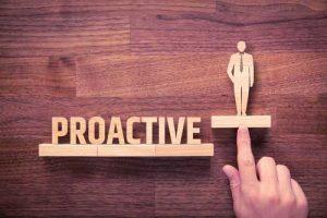 Proactive to get into drama schools