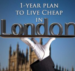Plan to Live On The Cheap In London
