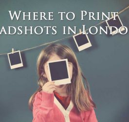 Where to print headshots in London