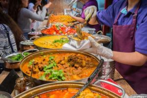 Brixton Market Street Food